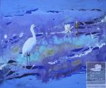 Image of artwork White Egret
